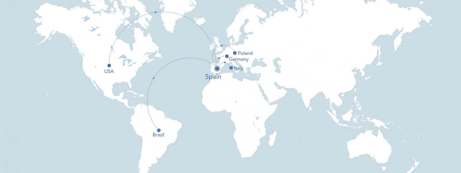 Mapa presència Bioiberica